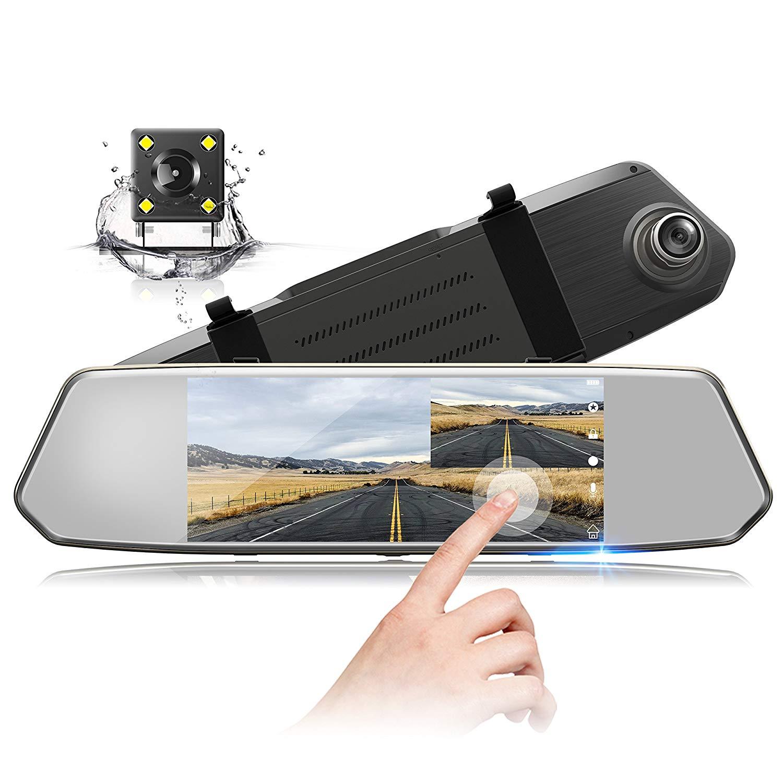 Rear View Mirror Dash Cams Truck Dash Cam