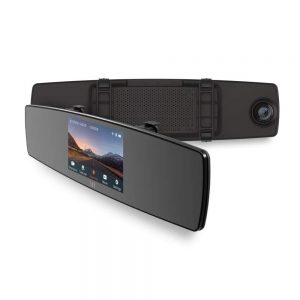 Two HD cameras including a front facing 1080p HD camera, and rear 720p HD camera