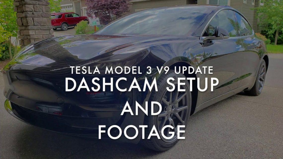 Tesla Dashcam Setup